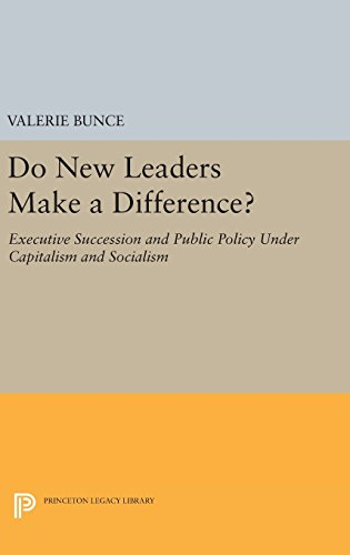 Do New Leaders Make a Difference? – Executive Succession and Public Policy Under Capitalism and Socialism