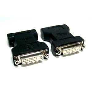 Micro Connectors, Inc. DVI-D Dual Link Female to Female Gender Changer Coupler(G08-221)