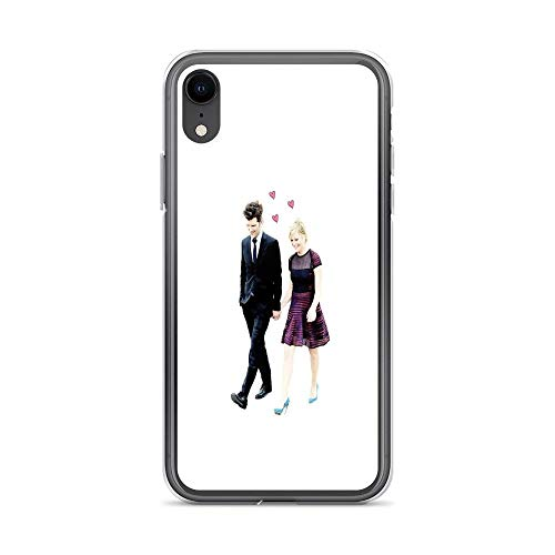 iPhone XR Case Clear Anti-Scratch Shock Absorption Ben and Leslie, Parks and rec Cover Phone Cases for iPhone XR