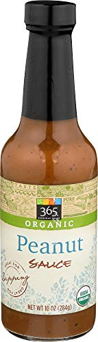 Asian Organic Sauce - 365 Everyday Value, Organic Peanut Sauce, 10 oz