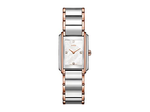 RADO Womens Integral - R20211903 Two-Tone Silver/Rose Gold One Size ()