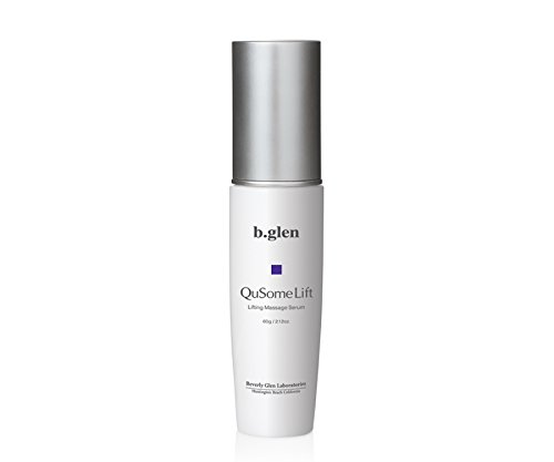 Facial Massage Serum | Tightening | Lifting | Laugh Lines | Sagging Skin | Looseness | Double Chin | b.glen QuSome Lift (60g/2.12oz)