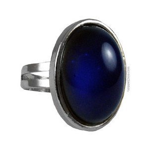 Bewild Original Oval Mood Ring (Adjustable Size) One Size fits All