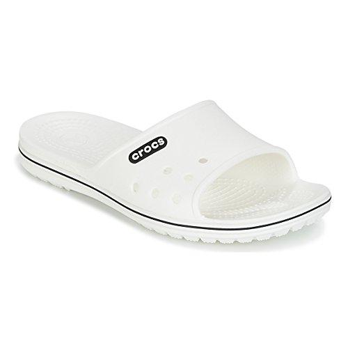 Ii Adulte U Crocband Mixte Blanc Crocs Mules Slide zYwfqx56