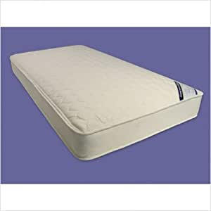 Quilted Deluxe Organic Cotton Mattress Size: Full (528 coil)