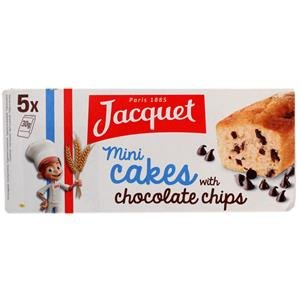 Jacquet Mini Cakes with Chocolate Chips 150g. carrier to shipping international usps, ups, fedex, dhl, 14-28 Day By Dragon Shopping Thank You (Sugar Free Vanilla Cake)