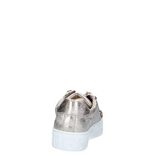 Guess Rosa Fl5mezlel12 Sneaker Donna Gold Oro Mod PrTa7PBqv