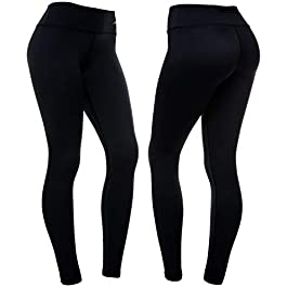 CompressionZ High Waisted Women's Leggings – Smart, Flexible Compression for Yoga, Running, Fitness & Everyday Wear (Black, XXL)