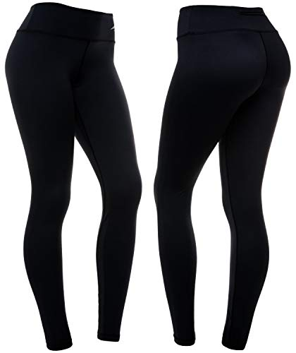 CompressionZ High Waisted Women's Leggings - Compression Pants for Yoga Running Gym & Everyday Fitness 1