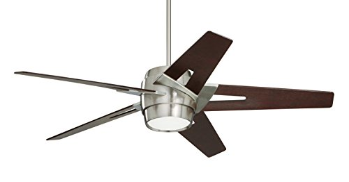 - Emerson CF550LDMBS Luxe Eco 54-inch Modern Ceiling Fan, 5-Blade Ceiling Fan with LED Lighting and 6-Speed Wall Control