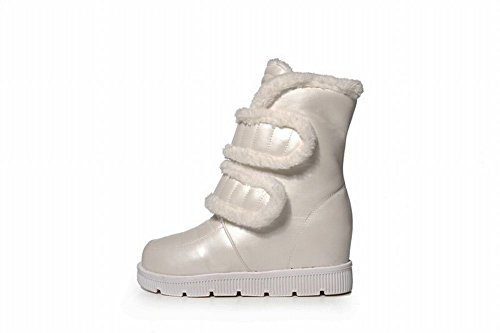 Snow Wedge Low Hook Short Heel loop Fashion Platform and White Boots Womens Latasa qWUvAf16A