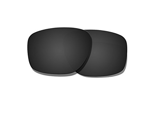 Black Polarized Replacement Lenses for Oakley Sliver Sunglas
