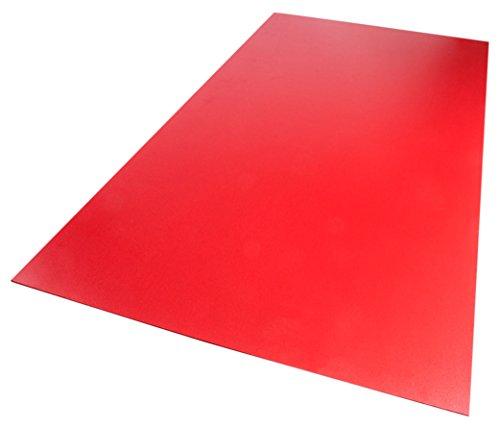 Palight ProjectPVC 24 in. x 48 in. x .118 in. Red Foam PVC