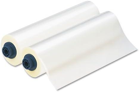 Laminator Roll Film, Gloss, 12 quot;x300#39, 1.7 mil, 2/BX, Clear