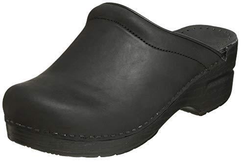 Dansko Women's Sonja Oiled Leather Clog,Black,40 EU / 9.5-10 B(M) US (Clogs Danska)