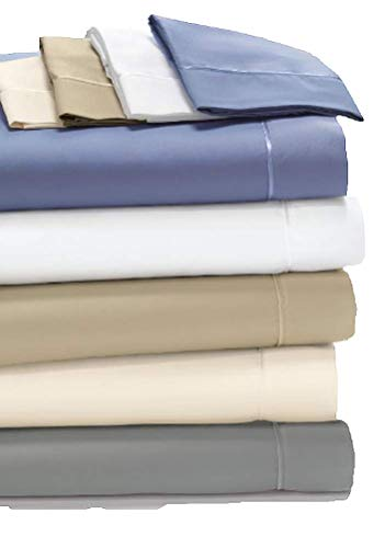 Degree 4 Dreamfit 100% Egyptian Cotton Sheets Set (Champagne, Queen)