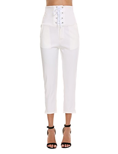 Super Comfy Flat Front Stretch Trousers Pants