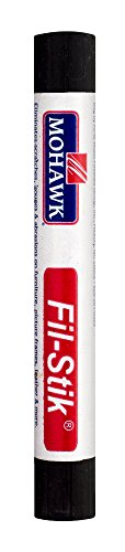 Mohawk Fill Stick (Fil-Stik) Putty Stick for Wood Repair (Espresso KMC)- Rub On Semi-Soft Wax Filler Stick