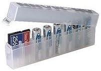 ANSMANN Caja organizadora para pilas AA y AAA: Amazon.es ...