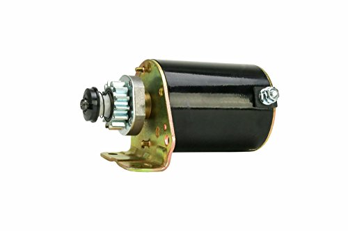 Erie Tools Electric 12V CCW 14 Tooth Steel Gear Starter Replaces Briggs & Stratton 693551 John Deere LS693551 - 12v Gear Starter