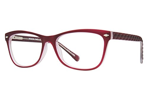 Lunettos Georgia Womens Eyeglass Frames - Plum - Frames Female Eyeglasses