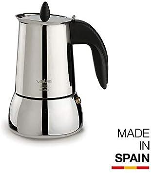Valira   Isabella   Cafetera apta para inducción   10 tazas, Acero ...