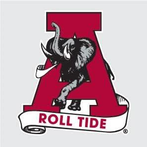 NCAA Alabama Crimson Tide Premium Vinyl Decal