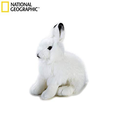 National Geographic Artic Hare Plush - Medium Size
