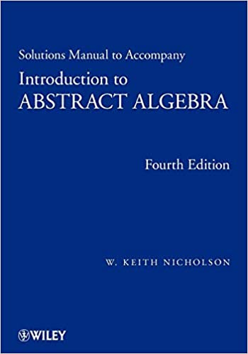 Solutions Manual To Accompany Introduction To Abstract