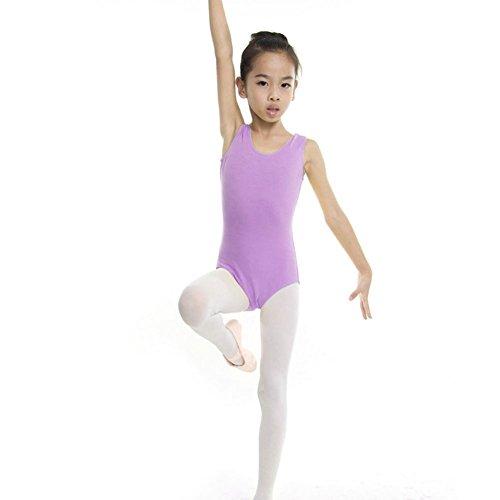 Bambina Viola Artistica Ginnastica Body 17 kission Ragazza Balletto 4 E Anni fFZFAwqv5