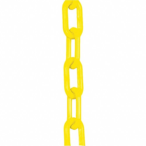 Plastic Chain,3/4 In x 50 ft,Yellow by Mr. Chain