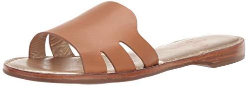 MARC JOSEPH NEW YORK Womens Leather Made in Brazil Slide Sandal, tan Nappa, 8 M US
