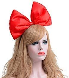Big Bow - ZTL Women Huge Bow Headband Hairband Hair Hoop Costume Accessories Party Props
