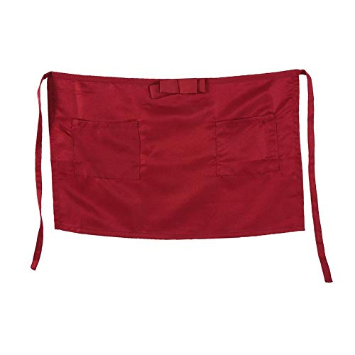 Used, Eboxer 7 Colors Half-Length Apron with Bowknot for for sale  Delivered anywhere in USA