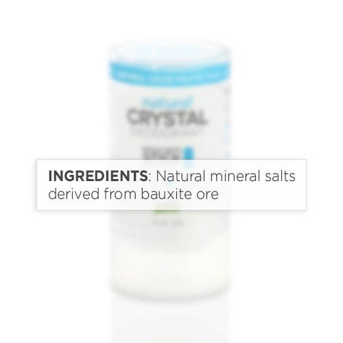Natural Crystal Deodorant Stick by SweatBlock