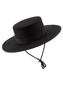 DISBACANAL Sombrero cordobes Fieltro: Amazon.es: Juguetes y juegos