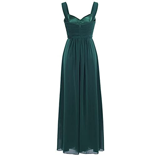 Dark Green Prom Dresses with Straps: Amazon.com
