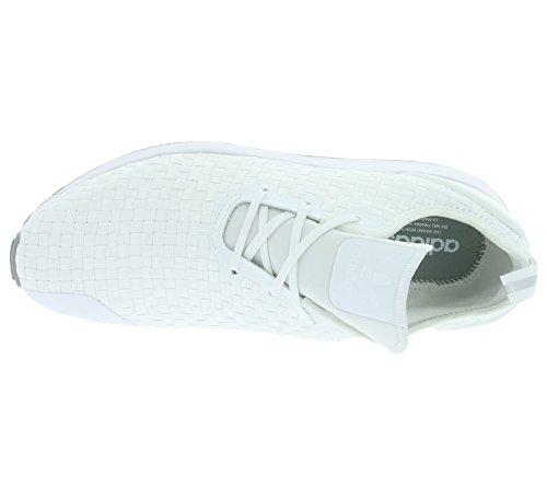 ADV Primeknit Originals Blanc Flux formateurs Hommes S76375 Blanc ZX adidas Asymétrique atX4xw