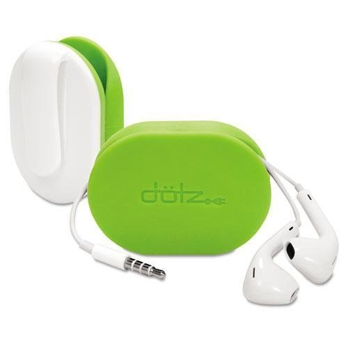 Paris Business FXW37MCL Dotz Flex Earbud Wrap, Lime Green by Paris Business