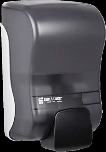 San Jamar S900TBK S900TBL Rely Manual Liquid and Lotion Soap Dispenser, 875 mL, Black Pearl: Amazon.com: Industrial & Scientific