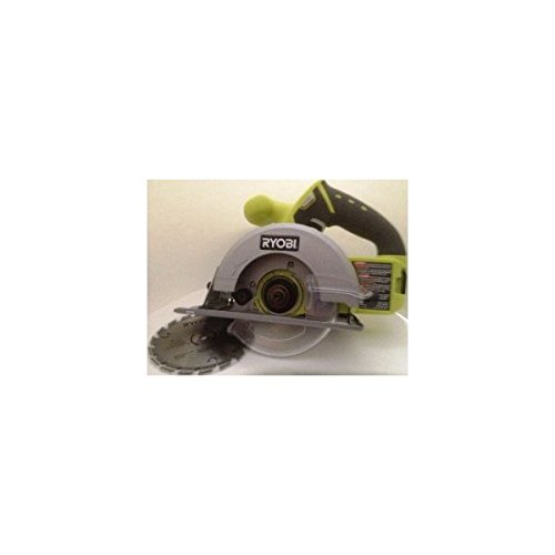 Ryobi P504G One+ 18 V Lithium Ion Cordless 5 1/2 Inch Circular Saw w/ Carbide Tip Blade (Battery Not Included, Power Tool Only)