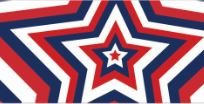 Product image of Native Pup American Flag Dog Collar (Large, Big Stars)