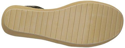 Kenneth Cole Reactie Vrouwen Fijne Wig Slingback Met Juwelen Platform Sandaal Gouden Luipaard