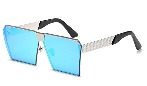 De Sol Gafas GRAMO JUNHONGZHANG Gafas Gafas Caja Resina Gafas Ladies Fashion De Decorativos Sol Metal I De fHOqH