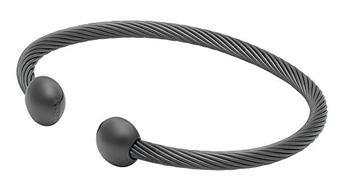 QRAY Gun Metal Deluxe Golf Athletic Bracelet Men Women for sale  Delivered anywhere in USA