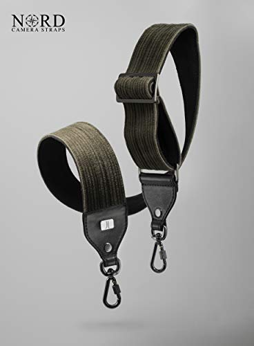 JL GEAR Nord Corduroy Universal Camera Strap with Quick Release System, Classic (JL-2LL)