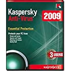 Kaspersky Antivirus 2009 – 3 User Edition