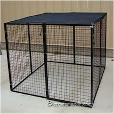 9'8''ft. X 10ft. Black Dog Kennel Shade Covers / Sunblock Tops