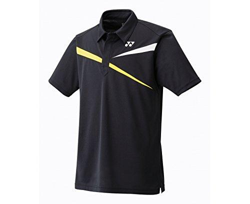 YONEX 10133EX Tournament Herren Poloshirt, Schwarz, XL