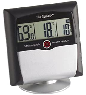 mit Lüftungsempfehlung TFA Dostmann Bel-Air Funk-Thermo-Hygrometer 30.3045.IT